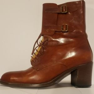 Luxurious Italian leather boots